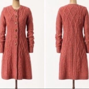Anthropologie Far Away From Close Sweater Cardigan